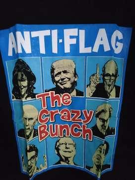 Kaos band Anti flag