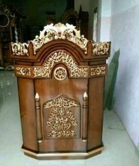mimbar masjid podium modern