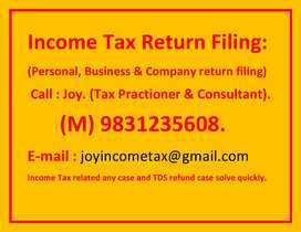 Income Tax and Investment  consultant. Call .Joy