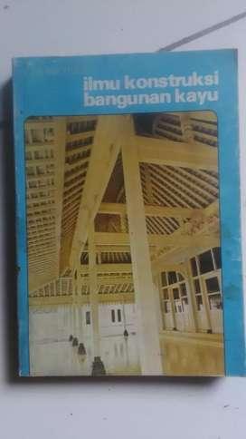 Buku kontruksi bangunan kayu