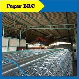 Pagar BRC Besi Bergalvanis Hot Dip Electroplating Jawa Timur