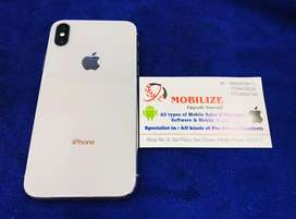iPhone X Silver 256GB only at 38990/-