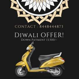 Diwali Offer, Get New Honda Activa 5G with Low Down Payment & Interest