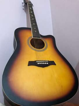 Crusader Acoustic Guitar(1 week used)(in warrenty)