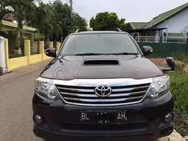Dijual Fortuner VNT Turbo Diesel 2012 akhir