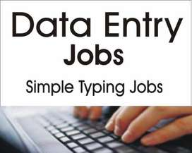 DATA TYPING JOB AT HOME (PART TIME WORK)