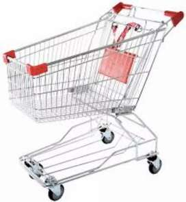 Shopping Trolleys, Customer Carts, Cash and Carry, Mart, Store Troley
