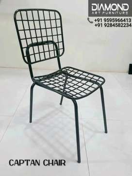 NEW CAFE HOTEL RESTAURANT METAL POWDER COATED CAPTAN CHAIR MANUFACTURE