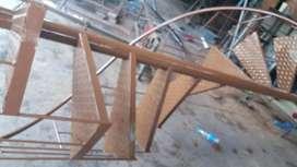 Menjual berbagai mcm model tangga putar dan tangga lurus