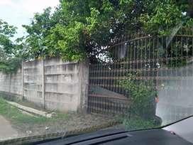 Dijual tanah sdh di panel buat gudang air bgs