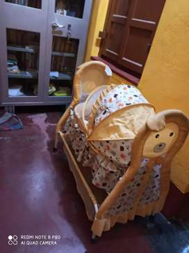 Baby crib with new condition