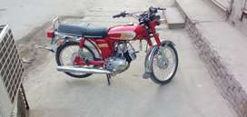 Yamaha deluxe 100 to stok fit bike total tayr