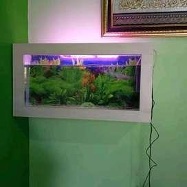 Rak aquarium untuk dinding