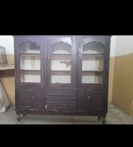 Pure wooden showcase best quality