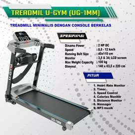 Treadmill Elektrik 2 Fungsi UGYM 1 MM