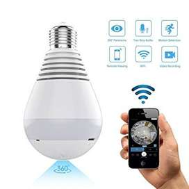 IP Wireless Panoramic Bulb Camera 960 P HD / Wireless  Online New Arri