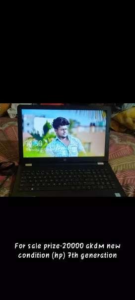 Good condition fresh hp laptop