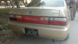 toyota corrola model 2001 in very good condition