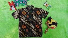 baju batik salur untuk anak