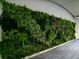 Jasa pembuatan taman dinding/vertical garden