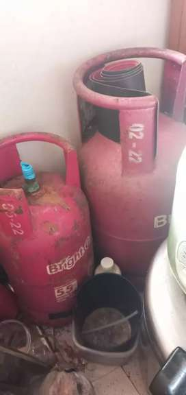 Tabung Gas Pink 12 kg dan 5,5 kg