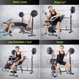 Alat Fitness Bench Press Multifungsi