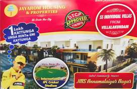 1BHK Plots For Sale ( Vellalagundam )