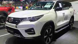 Toyota Fortuner on easy monthly installment.