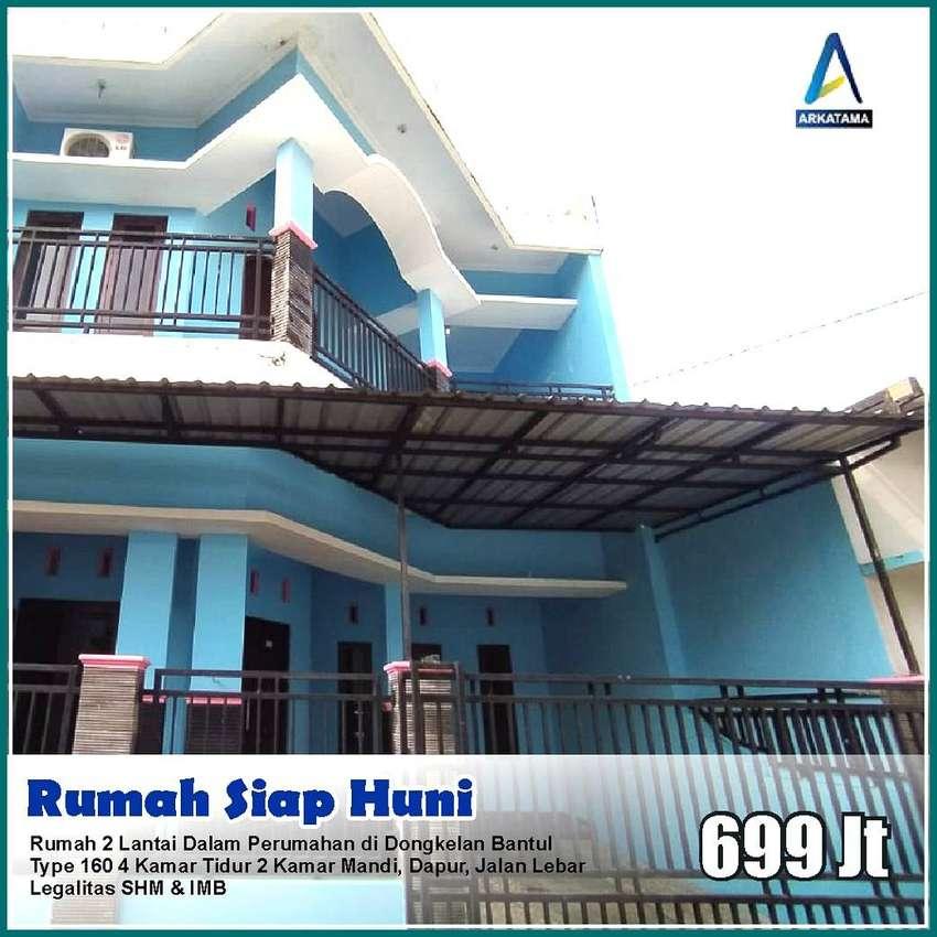 Cocok Untuk Kost, Rumah 2 Lantai Dalam Ringroad Dekat ISI Jogjakarta 0