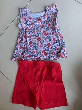 Baju jalan anak perempuan