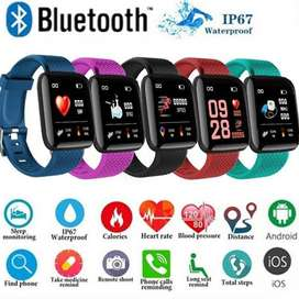 smart band waterproof watch with heart rate monitor