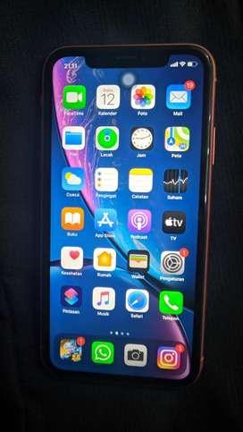 Iphone xr 64gb coral jual cepat