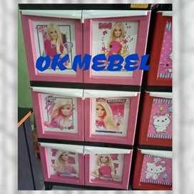 OK MEBEL Lemari Plastik Barbie Pku