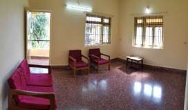 1bhk semi furnished for rent at porvorim 500 mtrs behind mall de goa
