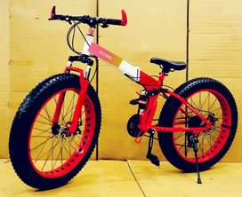 All New Fat Folding  Cycle Available With 21 speed gear