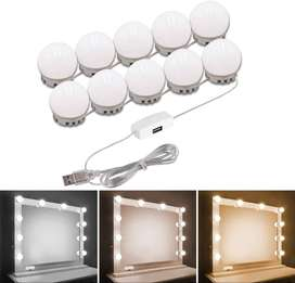 LED Vanity Mirror Light with 10 Light Bulbs for Makeup Dressing Table
