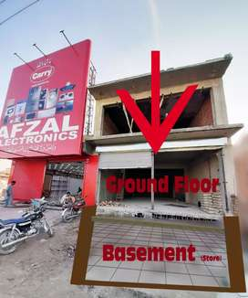 Commercial Shop Ground and Basement