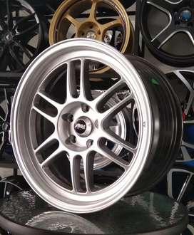 Velg mobil murah, racing pcd5×114.3 lebar.8 ring.18 offset,42.
