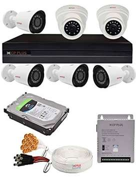 CP PLUS 6 SET CCTV CAMERA