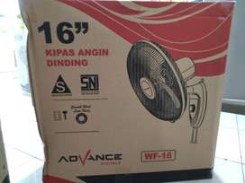 kipas angin dinding wall fan 16 inc advance WF 16 (jantung acc)