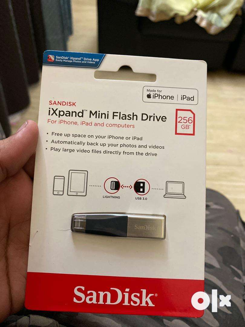 iXpand mini flash pendrive 256gb purchased on 5 January 2021 for sale 0