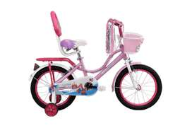 """Bsa cindrella silky pink bicycle 16"""" With goodies brand new sealed"""