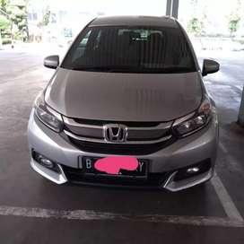 Honda Mobilio E Cvt 2018 seperti baru