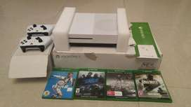 X BOX 1 S 1 TB with 2 console