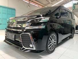 Toyota Vellfire ZG Premium Sound Look Black 2017 km10rb antik!!