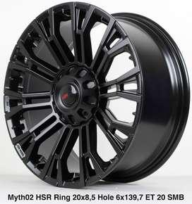 Bursa Velg Mobil Pajero Rubicon Xpander Inova Fortuner Ring 20