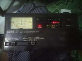 Korg auto cromatic tuner AT12