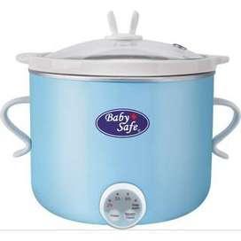 slow cooker alat bantu mpasi bayi 0,8 l bielbaby jogja