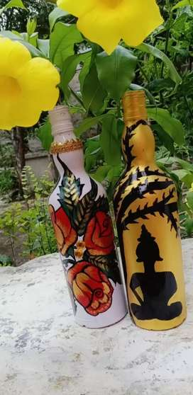 Hand made decorated botel