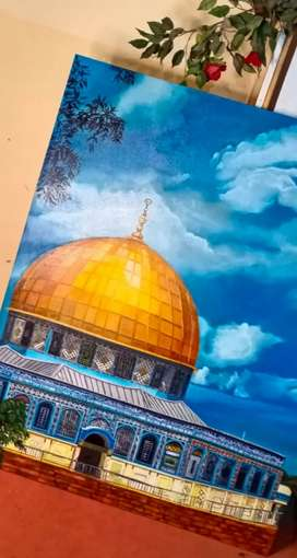 Dome of the rock painting